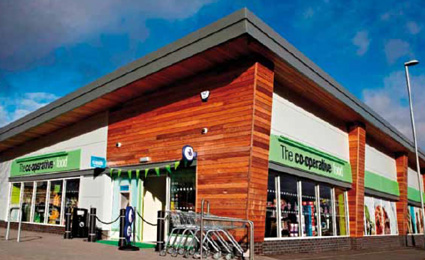 UK Co-operative Food embraces IP video surveillance with Axis