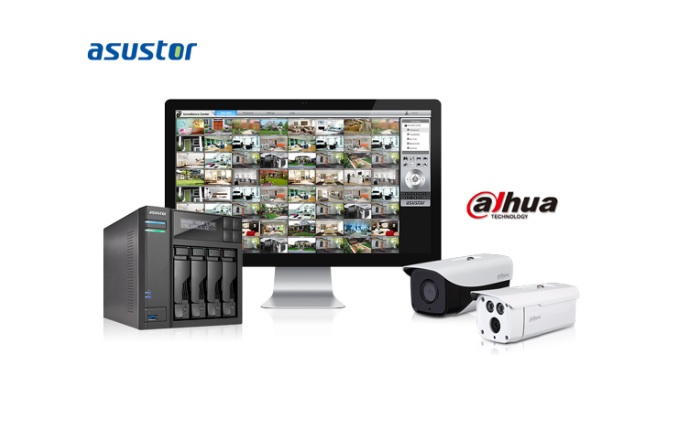 ASUSTOR and Dahua Technology partner to create surveillance solution