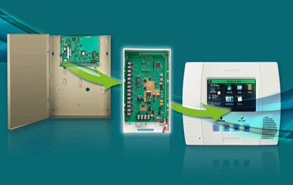 Honywell Module converts existing 12-volt control panels to wireless