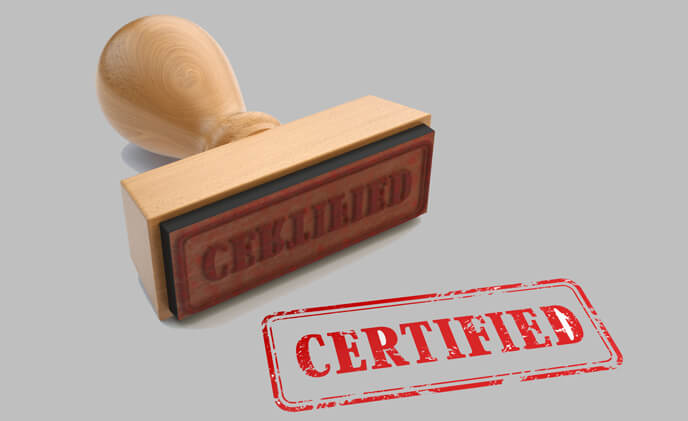 Why being certified is important in security