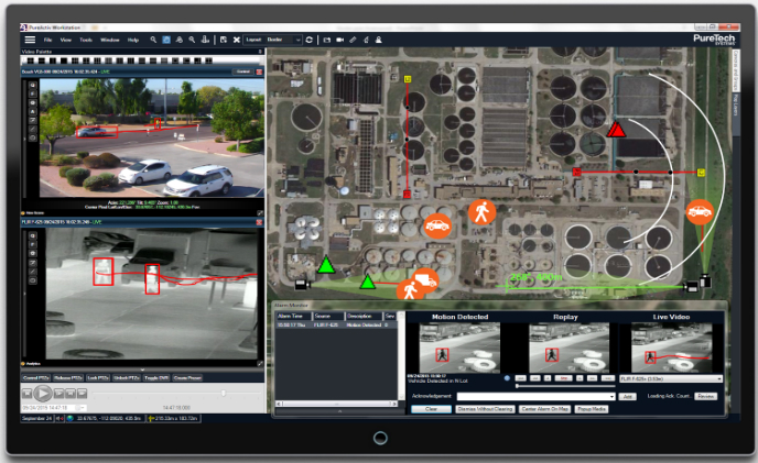 "PureTech Systems shows its ""dark side"" with the release of an enhanced user interface"