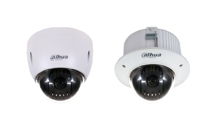 Dahua Technology USA adds mini dome cameras to Pro series PTZ line