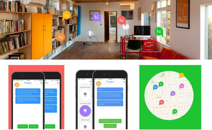 The startup offers smart home control hub through an AI chatbot