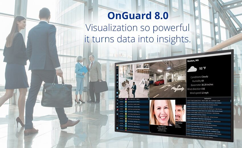 LenelS2 introduces OnGuard security management system version 8.0
