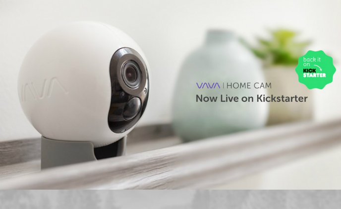 VAVA introduces new home cam with one-year battery life