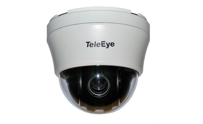 TeleEye launches new indoor analog HD speed dome