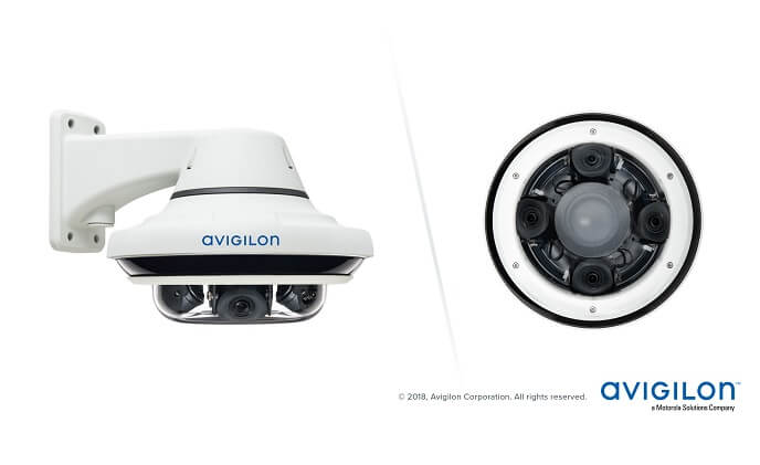 Covered from all angles with Avigilon H4 Multisensor Camera Line