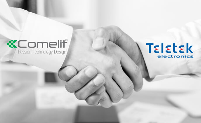 Comelit Group and Teletek Electronics combine strengths