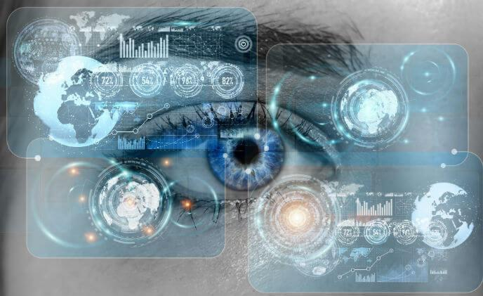Which vertical markets can benefit from iris recognition?