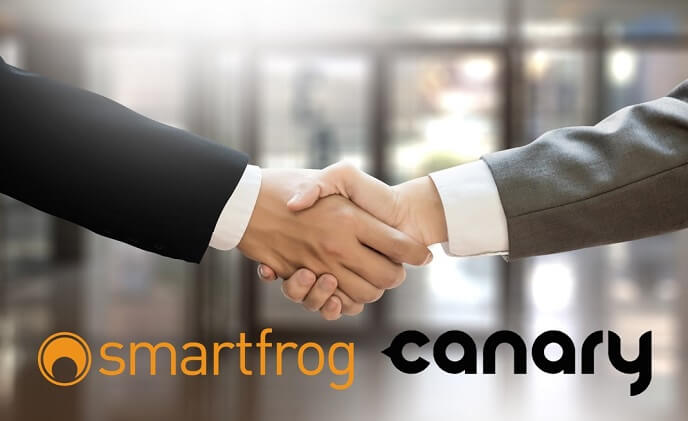 Security camera firms Smartfrog and Canary join forces