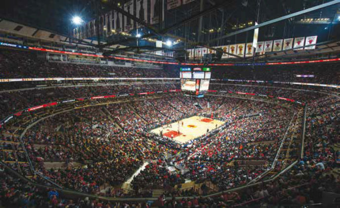 Streamlining arena security at United Center with Axis