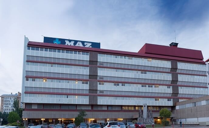 ASSA ABLOY SMARTair secures Hospital MAZ in Zaragoza