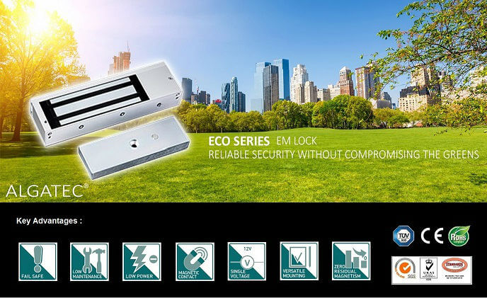 Algatec lock integrates security technology with eco-friendly design