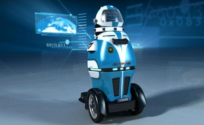 Security guard robots to solve patrolling staff shortage
