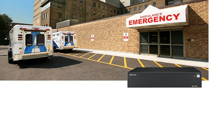 Surveon failover solution keeps public hospital's surveillance intact