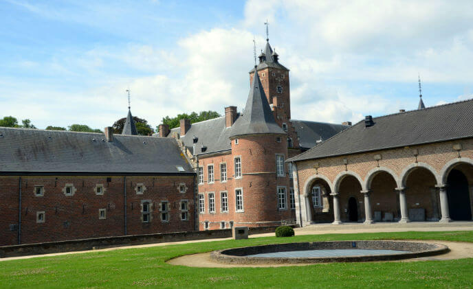 Sony network cameras safeguard European heritage site Alden Biesen Castle in Belgium