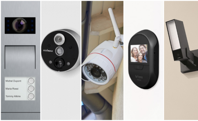 IFA2017 product preview: Five frontdoor cameras watch out visitors