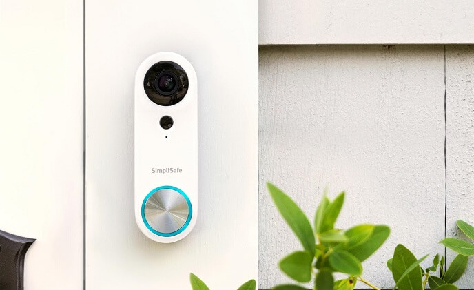 SimpliSafe introduces Video Doorbell Pro