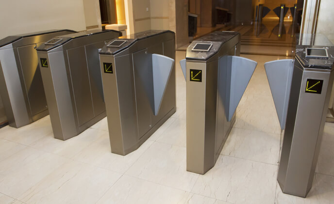 Besides security, throughput and aesthetics matter for turnstiles