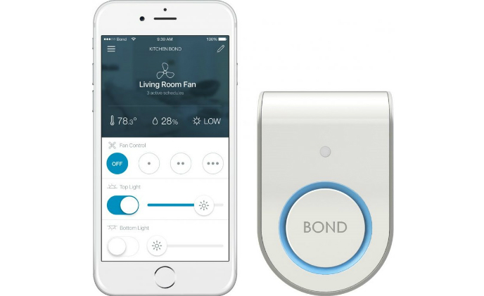'Bond' turns smartphone into remote control for non-smart home devices