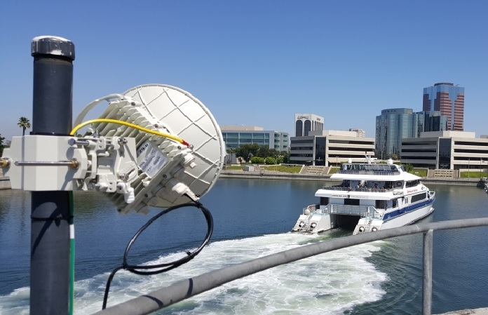 Siklu upgrades wireless surveillance connectivity for Port of Long Beach