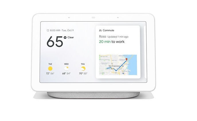 Google unveils smart speaker with display and new Google Home app
