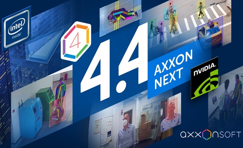 AxxonSoft releases version 4.4 of the Axxon Next intelligent VMS