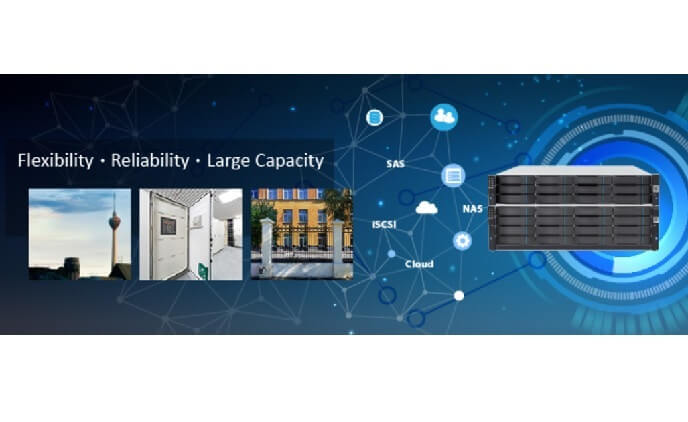 Surveon maximizes storage capacity with highly flexible expansion solutions
