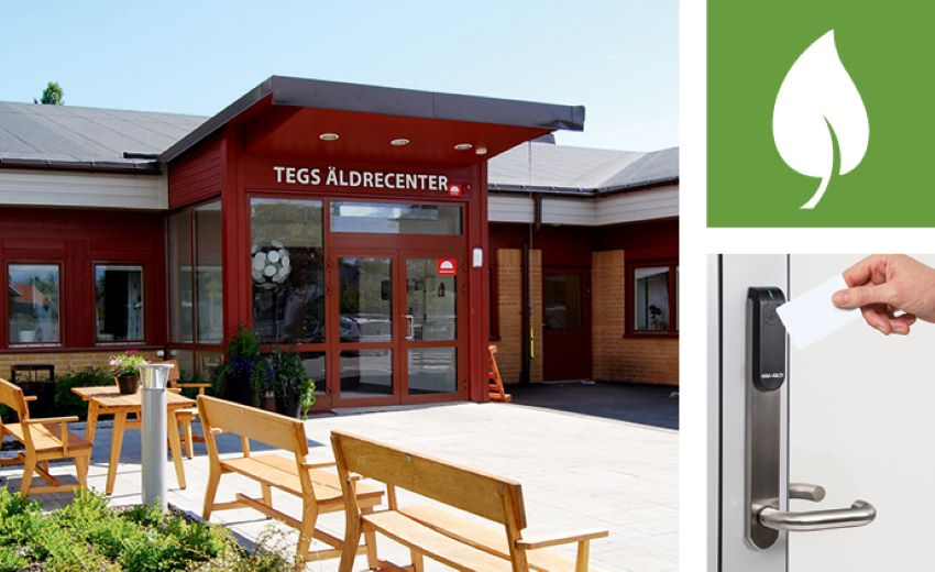 How wireless access control contributes to one Swedish care home's sustainability goals