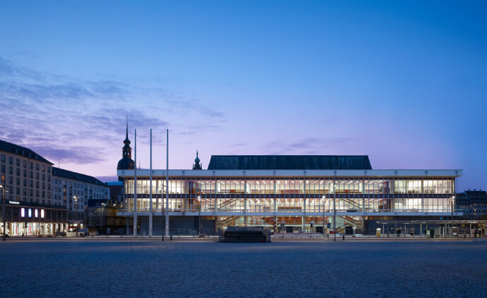 "Bosch networked solution ensures security in Dresden's ""Palace of Culture"""