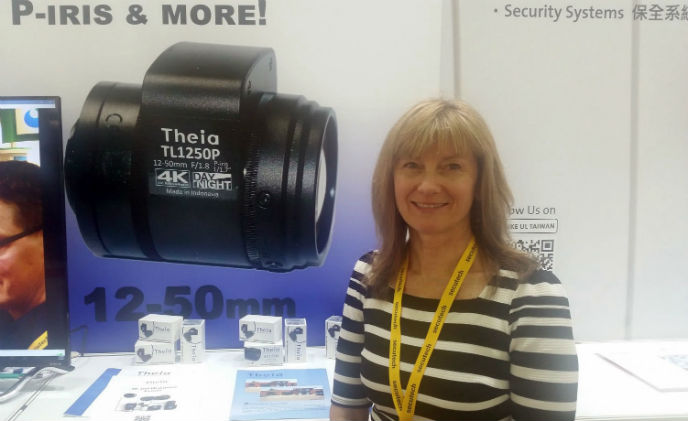 Theia showcases 4K family at Secutech 2017