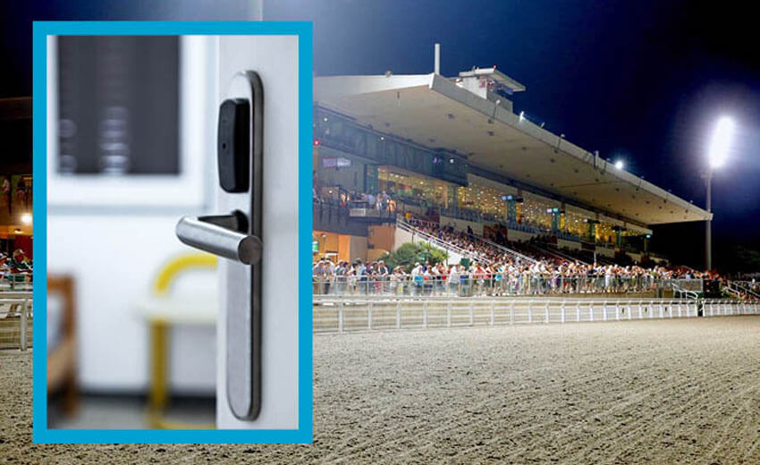 One French racecourse saves security costs by switching from mechanical keys