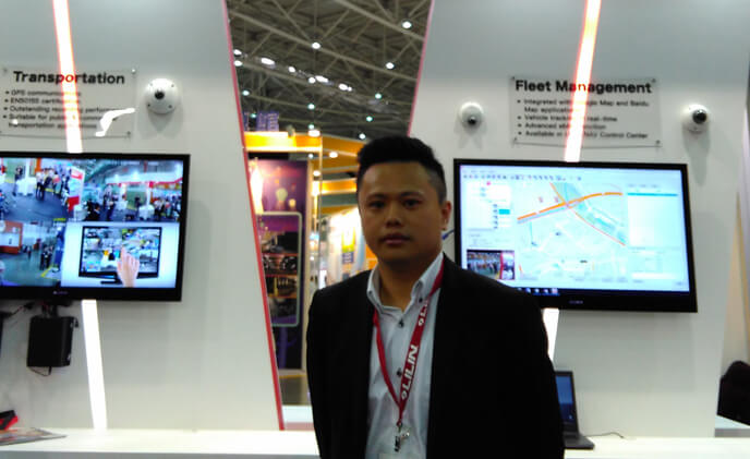 LILIN showcases 4K H.265 cameras at secutech