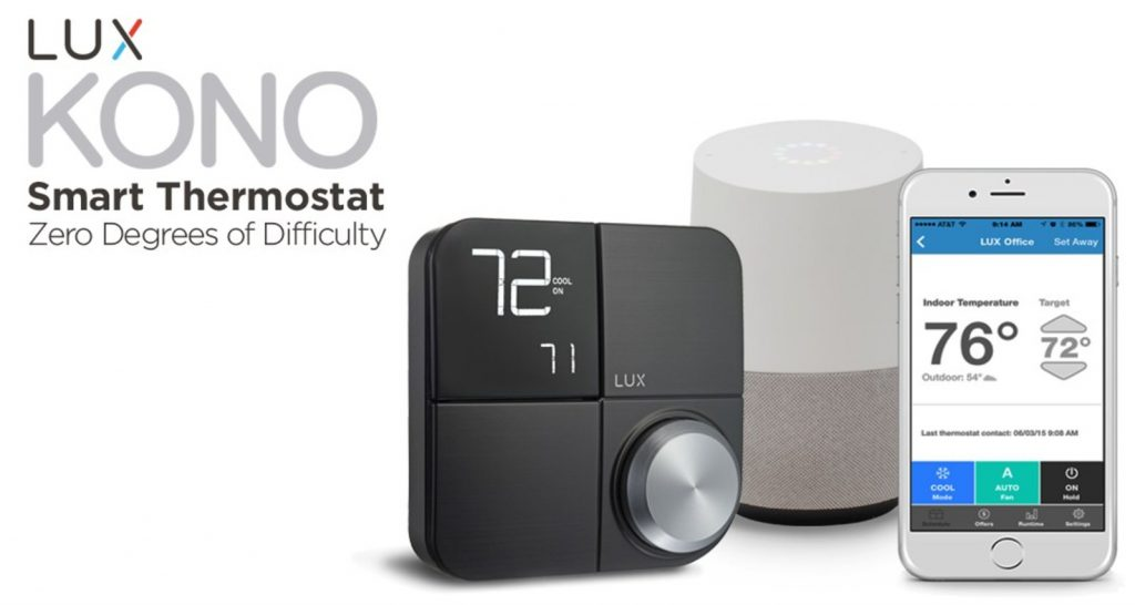 LUX products debuts thermostat that talks to Siri, Alexa and Google Assistant