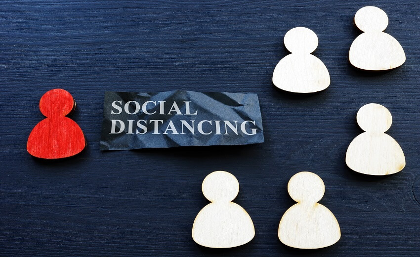 How people counting helps enforce social distancing