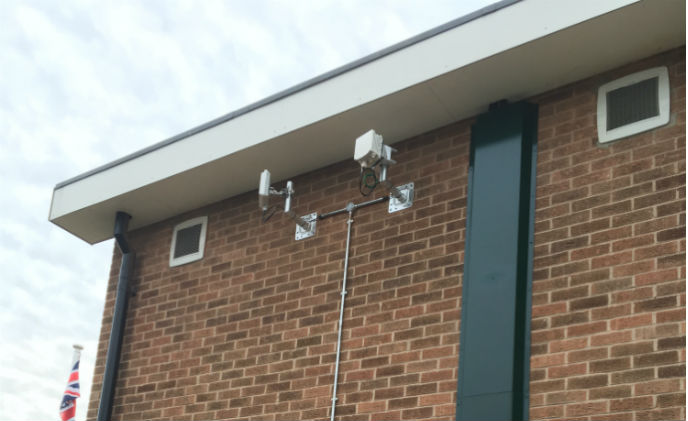 Siklu's millimeter wave solution delivers wireless connectivity to cameras throughout Oakham