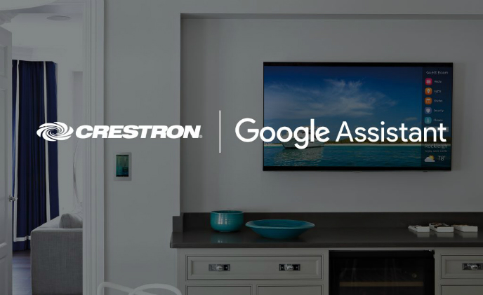Crestron partners with Google Assistant to deliver intuitive voice control of custom home automation