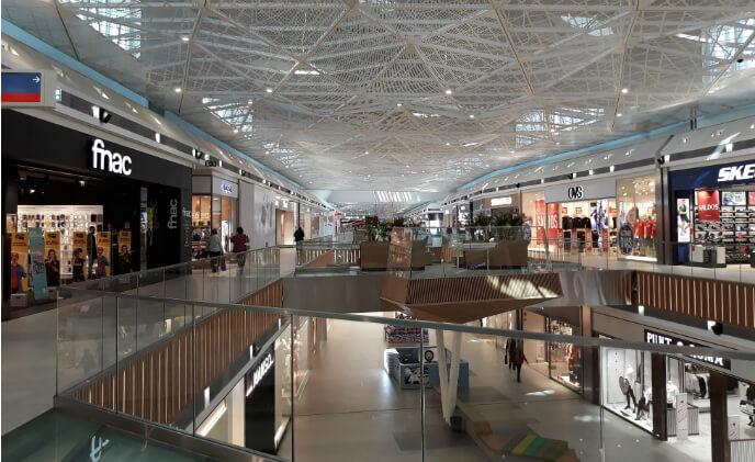 Bosch security for IKEA mall in Portugal: Many shops, one solution