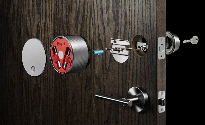 "August Home first smart lock to allow Amazon Alexa to ""Unlock my door"""