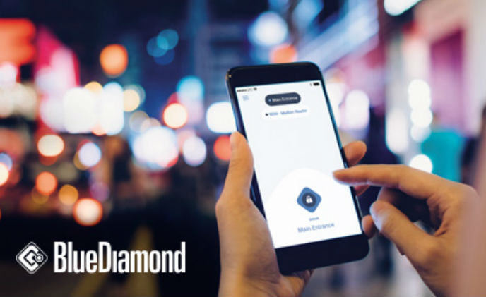 Lenel introduces new BlueDiamond app for intuitive, faster door entry