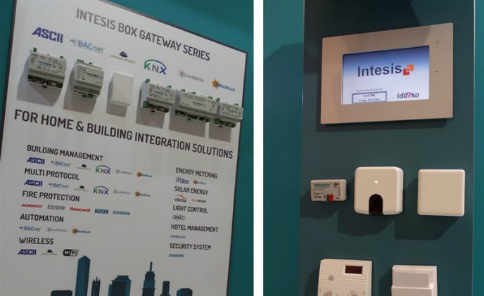 Light + Building 2016: Intesis introduces new gateways for smart A/C control