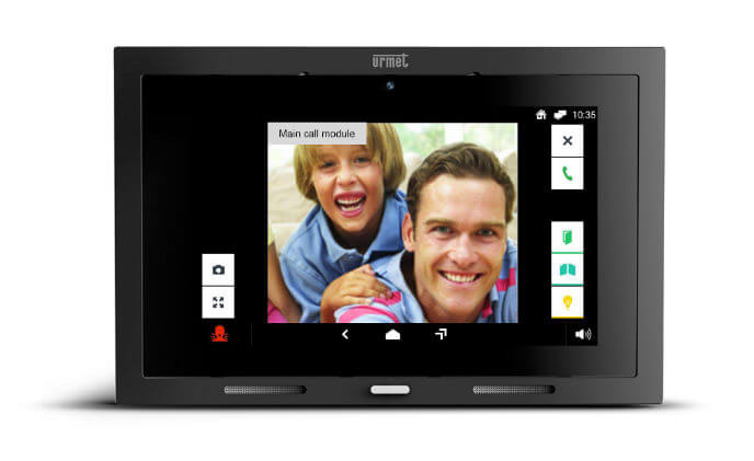 Urmet extends its range of IP touchscreens with new Max Lite touchscreen