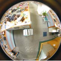 Avisonic will demonstrate megapixel fisheye lens distortion compensation IC at Security China 2010