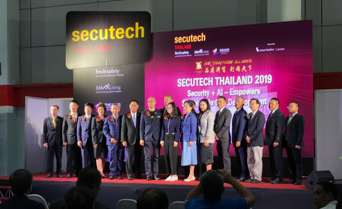 Secutech Thailand 2019 opens as part of inaugural Smart City Solutions Week