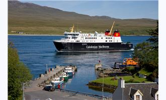 Scottish Ferries Protected by Access Control Keypads