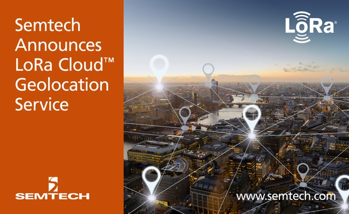Semtech announces availability of LoRa Cloud Geolocation