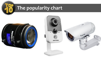 The top 10 most popular products for December 2013