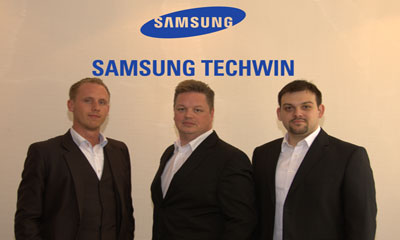Samsung Techwin expands DACH team