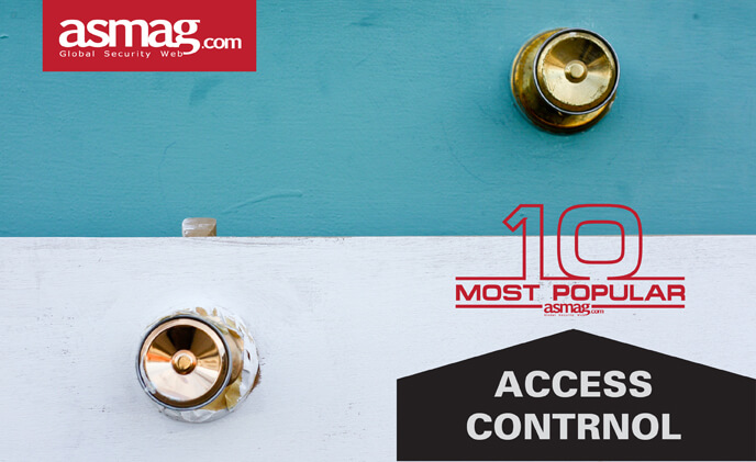 TOP 10 most popular access control products in 2017