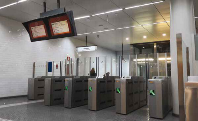 Axis helps detect fare dodgers for train stations